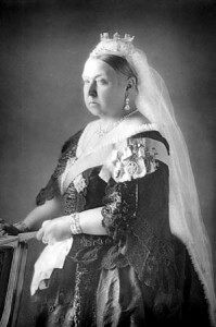 Queen Victoria, portrait 1890.