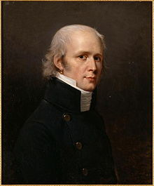Portrait of Charles Percier.