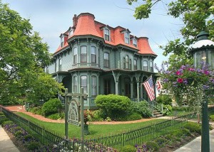 Victorian house, Second Empire, 1880, New Jersey.