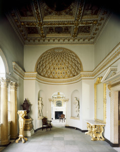 Inside of Chiswick House- Octagonal Room