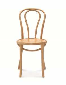 No. 18 Bentwood Cafe Chair, Thonet