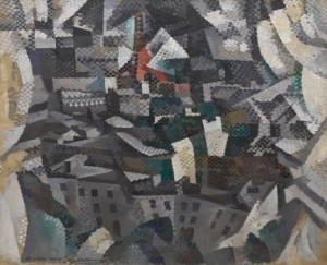 Robert Delaunay, 1910, The City ( La ville ).
