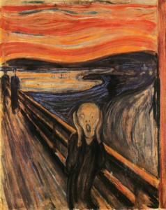 The scream by E.Munch (1893), National Gallery of Oslo