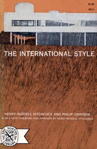 Cover of The International Style by Henry-Russell Hitchcock and Philip Johnson