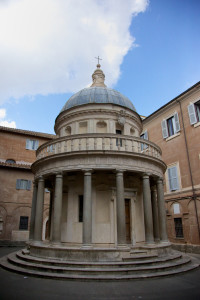 Tempietto in the Cloister of San Pietro in Montorio