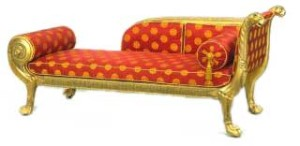 Classical Couch, 1805, design by Sheraton.