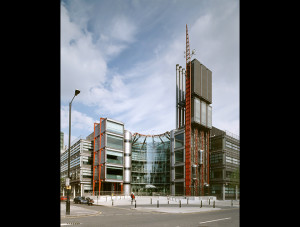 Channel 4 headquarters, Horseferry Road, London, in 1996