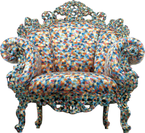 Proust armchair by Mnedini.