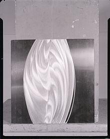 Getulio Alviani, Aluminium panels. Photo by Paolo Monti, 1963 (Fondo Paolo Monti, BEIC)
