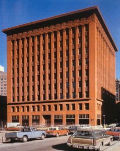 Wainwright Building, by Louis Sullivan and Dankmar Adler.
