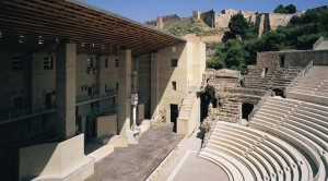 Roman Theatre in Sagunto, Spain, 1985-1993.