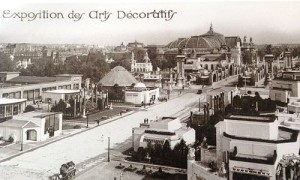 Postcard of the International Exhibition of Modern Decorative and Industrial Arts in Paris (1925)