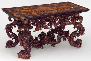 High Baroque Table