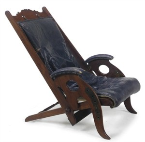 James Herbert Macnair Folding chair, 1890