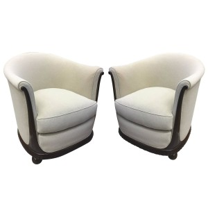 Jules Leleu - Early Art Deco Chairs
