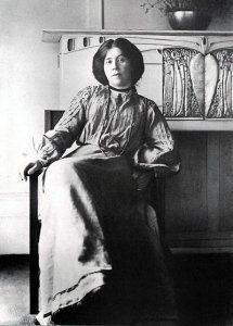 Margeret MacDonald, portrait.