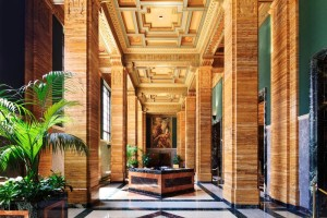 One Bunker Hill Art Deco Lobby Interior Design