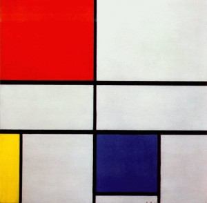 Piet Mondrian - Composition-c (1935).