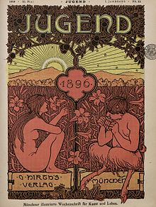 1896 edition cover of Jugend