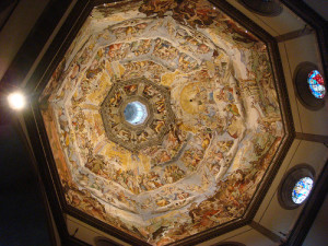 Brunelleschi's Dome, detail