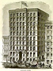Montauk building in Chicago.