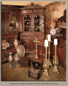 Example of Renaissance furniture