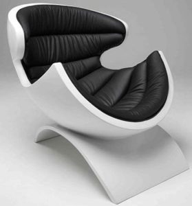 An example of Modern design chair.