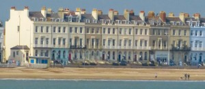 Esplanade in Weymouth, Regency style example