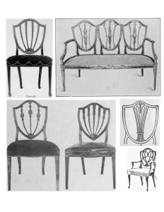 Hepplewhite Design, chairs