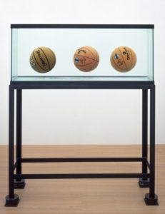 Three Ball Total Equilibrium Tank (Two Dr J Silver Series, Spalding NBA Tip-Off), 1985.