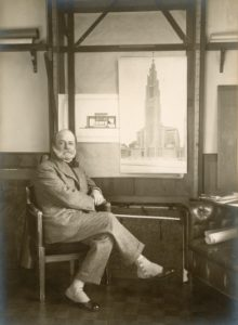 August Perret (1874,1954), old picture.