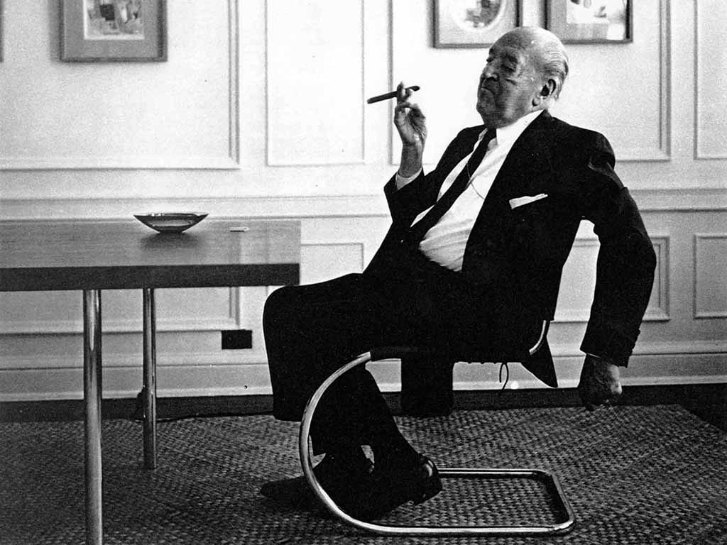 ludwig mies van der rohe 1886 1969 i design. Black Bedroom Furniture Sets. Home Design Ideas