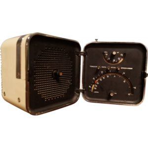 "Brionvega ""Ts 502"" radio, Zanuso and Sapper, 1960."