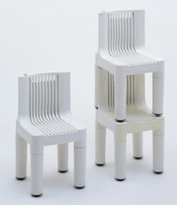 Children's Chairs (model K4999), Marco Zanuso with Richard Sapper,1960–1964, Kartell.