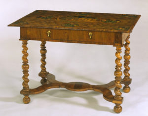 A Charles II style table.