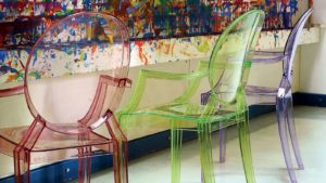 Lou Lou Ghost chair, Philippe Starck for Kartell