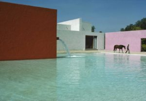 San Cristobal Stables, Mexico City by Luis Barragán