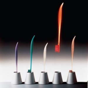 Toothbrushes for Fluocaril, Philippe Starck, 1993