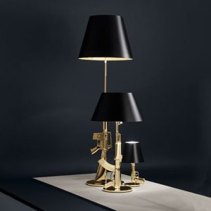 Gun Lamps, Philippe Starck for Flos