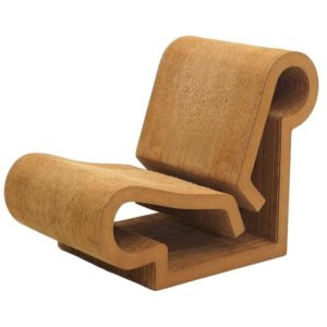 Contour Chair, 1969-1973, Frank Gehry