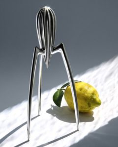 Juicy Salif lemon squeezer, Philippe Starck for Alessi, 1990