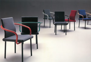 Mandarin Chair, Ettore Sottsass for Knoll, (1986)