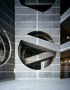 National Assembly Building in Dhaka, Bangladesh, Louis Kahn, 1962-83.