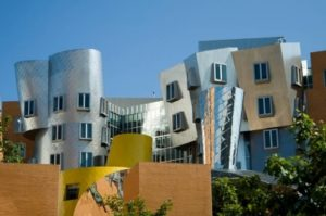 The Ray and Maria Stata Center, (MIT) in Cambridge, Frank Gehry