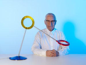 Alessandro Mendini with Amuleto Lamp for Ramun