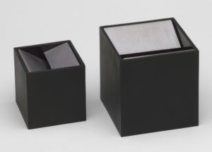 Cube Ashtray, 1957, Munari for Danese.