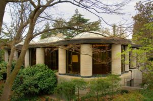 Philip Johnson, Museum Pavilion for the Robert Woods Bliss Collection of Pre-Columbian Art, Dumbarton Oaks, Washington, D.C