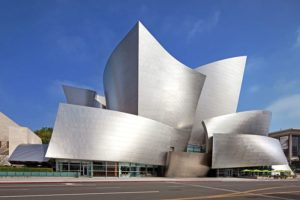 Walt Disney Concert Hall (2003), Los Angeles.