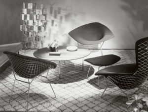 Diamond and Bird Chair , Harry Bertoia