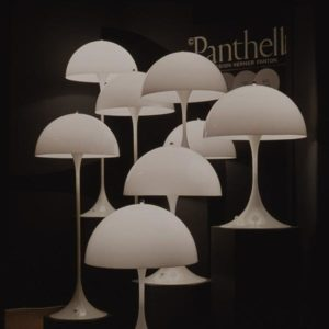 Panthella Table Lamp, 1971, Verner Panton.